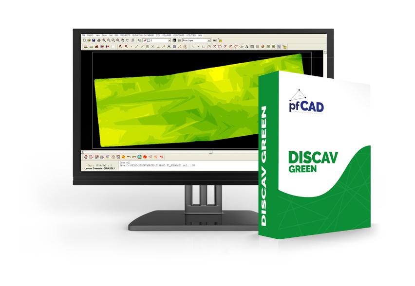 Discav green pfcad surveying software solutions for Software di progettazione domestica di piano terra